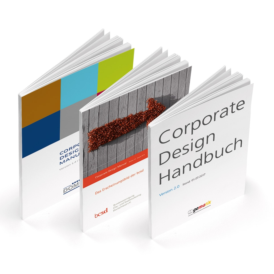CORPORATE DESIGN MANUALS